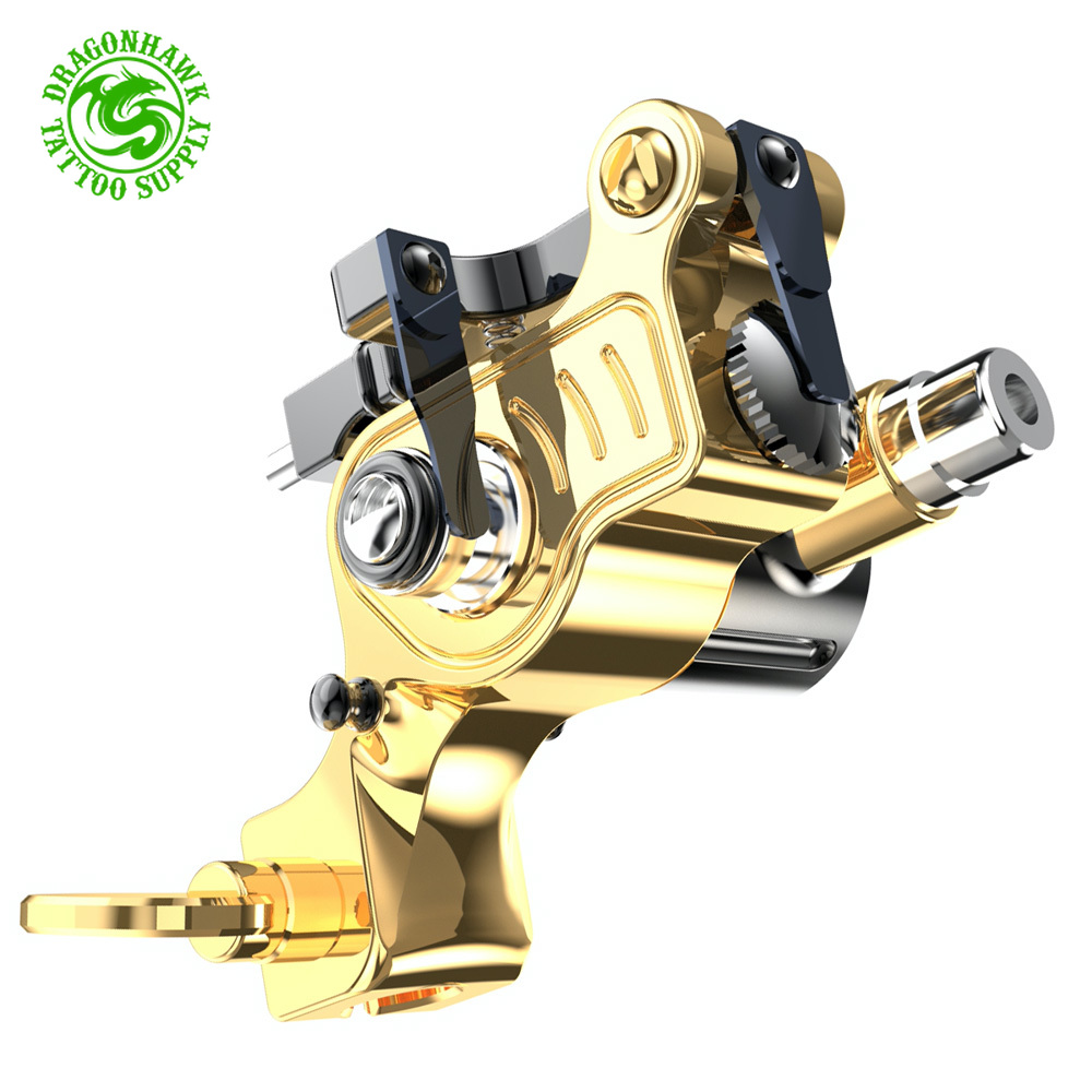 Pure Copper New Design Adjustable Stroke Tattoo Rotary RCA Machine Powerful Coreless Motor Permanent Makeup  Accessories