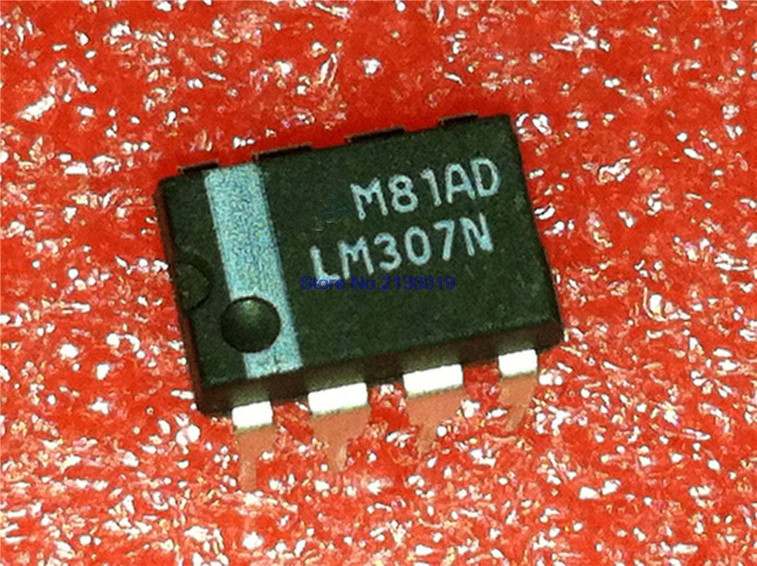 4pcs/lot LM307N DIP8 LM307 DIP 307N In Stock