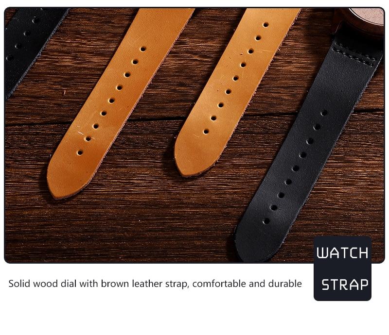 Accept Photo Personalized Customized Printing Your Photo Men Watch Unique Bamboo Wood Quartz Wristwatch Creative Souvenir Gifts 2020 2021 BOBO BIRD (11)