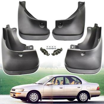 4pcs Car Mud Flaps For Toyota Corolla Sedan 1993-1998 E100 AE100 AE102 101 Mudguard Splash Guards Fender Mudflaps image