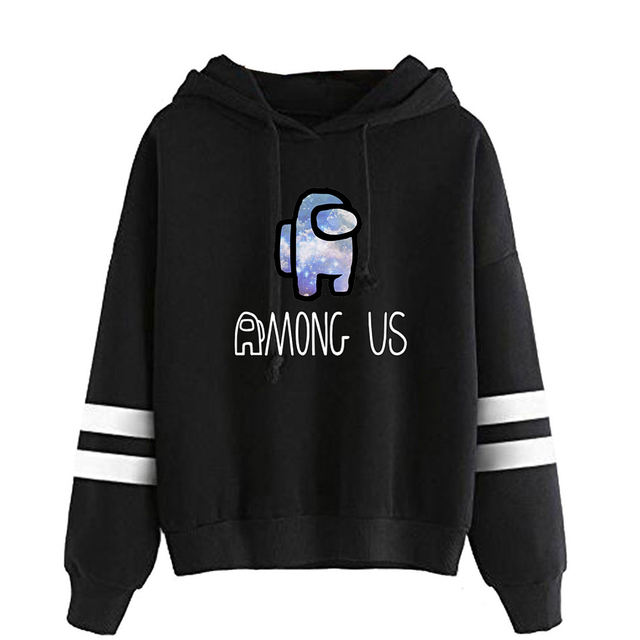 AMONG US THEMED STRIPED HOODIE (18 VARIAN)