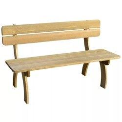 VidaXL banco de jardín 150cm FSC 41960 de madera de pino impregnado