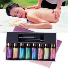 Yidiola 10ML 8Pcs/Set Pure Essential Oil Lavender Tea Tree E