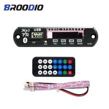 цена на MP3 Bluetooth Decoder Board Car Audio Player FM Radio TF USB 3.5mm AUX Module Car MP3 Decoding Speaker Accessories With Remote