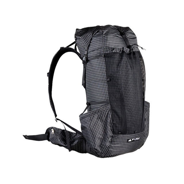 3F UL GEAR Qi Dian Backpack ultralight Camping Pack Travel Backpacking 46+10L 2