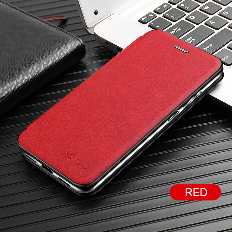 Leather Flip Magnetic Case For Xiaomi Redmi note 8t 8a 9 8 pro 9s 7 7a 5 plus a2 21
