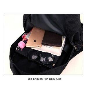 Image 4 - Мужской Дорожный рюкзак для ноутбука, черная водонепроницаемая сумка на плечо, школьный ранец для деловых поездок, 2020