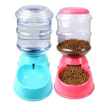 Automatic Pet Feeder Cat Dog Drinking Water Fountain Large Capacity Food Dispenser Puppy Feeding Dish Drinker Bowl 2020 new pet automatic feeder dog cat drinking bowl for dog water drinking cat feeding large capacity dispenser pet cat dog