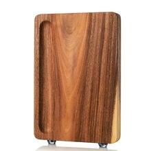 Цельная разделочная доска из акации цельного дерева для кухонного