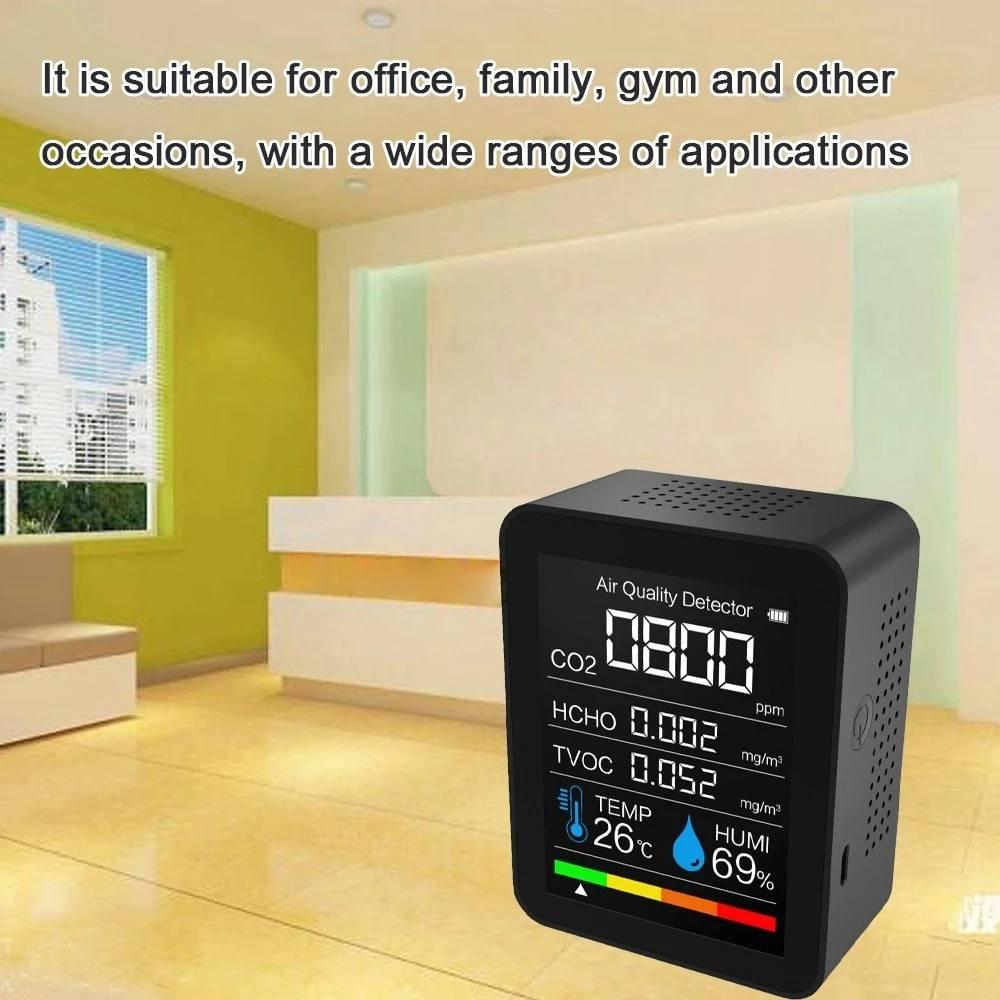 sensor qualidade do ar monitor analisador tvoc