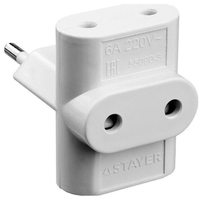 Splitter electric STAYER 55090 3 MAXElectro 3 sockets, 6A / 220V