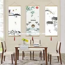 Фланелевая живописная живопись тушью Туризм китайский Аньхой