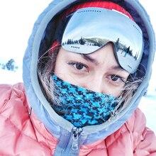 Мужские и женские HD Лыжные очки UV400 противотуманные лыжные очки зимние ветрозащитные очки для сноуборда лыжные очки для сноуборда