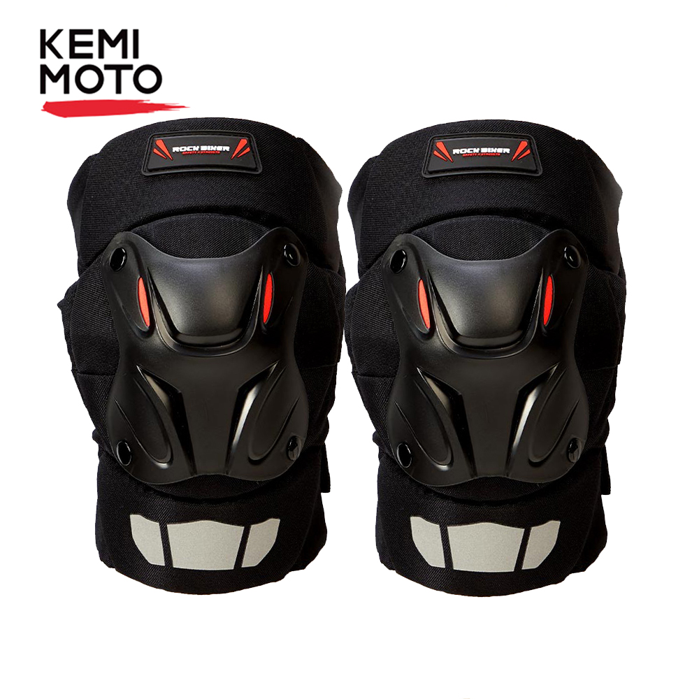 KEMiMOTO Motocross Knee Pads Protector Motorcycle Kneepads Outdoor Sports Safety Protective Gear Racing Off-Road Protection