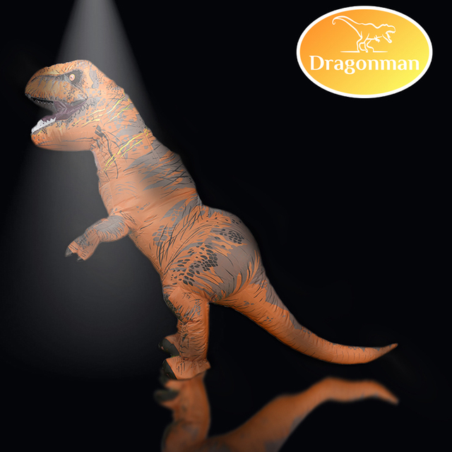 Mascot Inflatable  T REX Anime Cosplay Dinosaur For Adult Men Women Kids Dino Cartoon  Costume