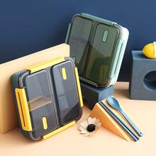 Styl japoński pojemnik bento dla dzieci przenośny piknik na świeżym powietrzu pudełko na lunch szczelny pojemnik na jedzenie przechowywanie studenckie pudełka śniadaniowe