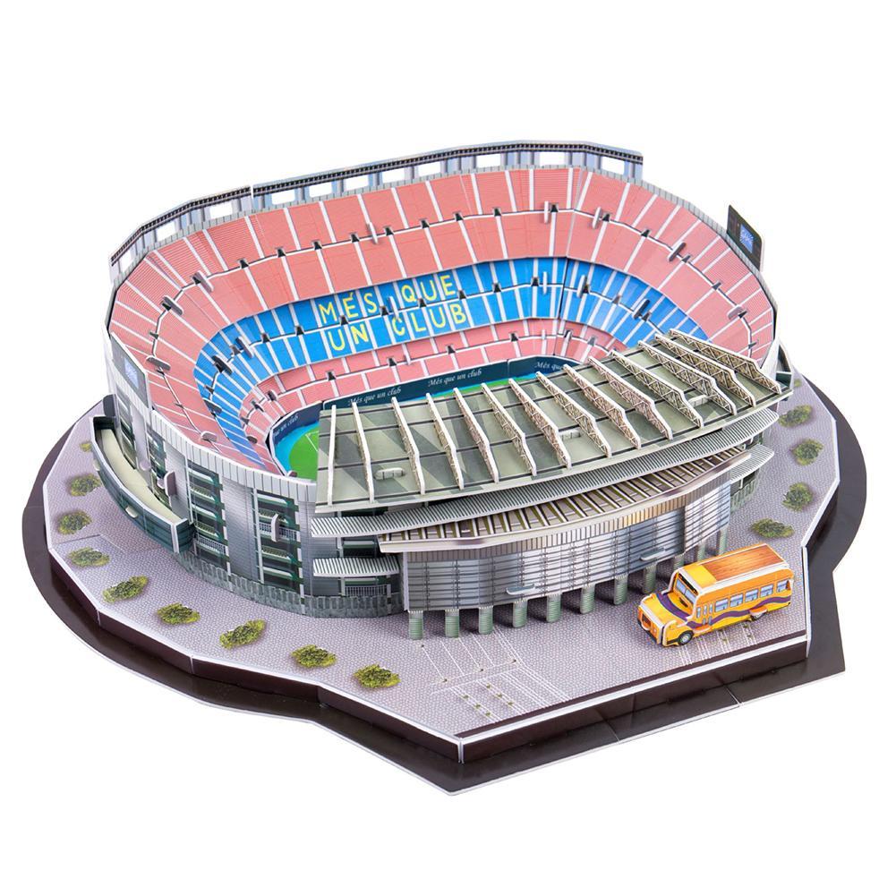 Kids Children Funny Football Soccer Stadium Model 3D Jigsaw Puzzle Game DIY Toy Football Soccer Stadium Model 3D Jigsaw Puzzle G