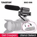 Takstar SGC-598 Micrófono De Condensador Para Grabación De Vídeo Cámara Nikon Canon Sony DSLR, Micrófono De Entrevista Vlogging Sgc 598