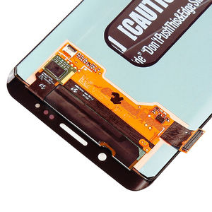 Image 4 - الأصلي 5.7 AMOLED LCD لسامسونج غالاكسي s6 حافة زائد G928 G928F شاشة تعمل باللمس محول الأرقام مع خط