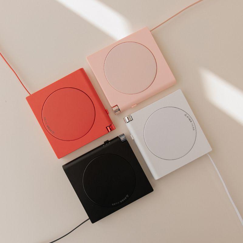 Ev Aletleri'ten Kişisel Bakım Aletleri Aksesuarları'de USB kahve kupa akıllı izolasyon için sıcak plaka masa bardak ile otomatik sıcak title=