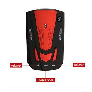 360 Degree Car 16 Band V7 GPS Speed Safe Radar Detector Voice Alert Laser