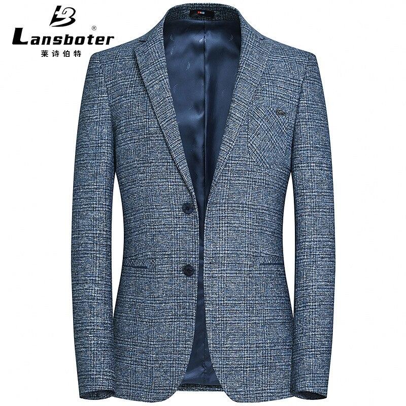 Leshibo Special Autumn Suit Male Slim Fit Small Suit Imitation Hemp Leisure Single West