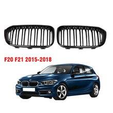 Ricoy Brillant Noir Pour BMW F20 F21 120i 118i 116i 116d M135i M140i 2015 2016 2017 2018 Hayon Sport Rein Gril