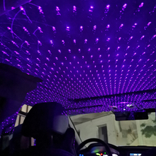 Car Ambient Light Auto Interior Decoration Accessories USB Led Projector Sky Star Lights Party Decorative RGB Laser Galaxy Lamps