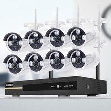 Ai-Camera-Set NVR Video-Surveillance-Kit MISECU Wifi CCTV Waterproof Wireless-System