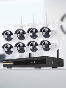 Ai-Camera-Set Audio-Record Video-Surveillance-Kit MISECU Wifi CCTV Waterproof Wireless-System
