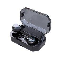 G03 Bluetooth Headsets 6000 mAh LED Smart Display high-end 6D Surround HD sound 5.0 IPX7 Waterproof Wireless Earphones