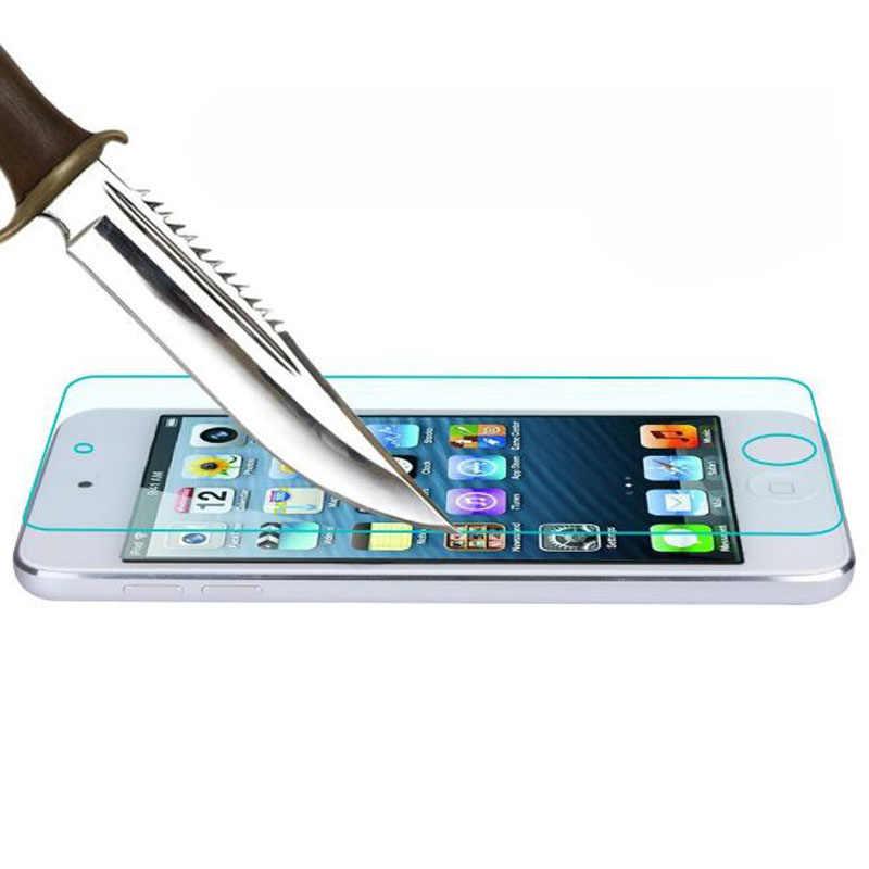 Para Apple ipod touch 5/6/7 5th 6th 7th película protectora touch6 touch7 cubierta protectora de pantalla frontal Protector de vidrio templado