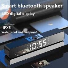 Wireless Bluetooth Speaker  LED Soundbar TV Alarm Clock Home Theater Sound Bar FM Radio Subwoofer Speaker Computer Speakers Som