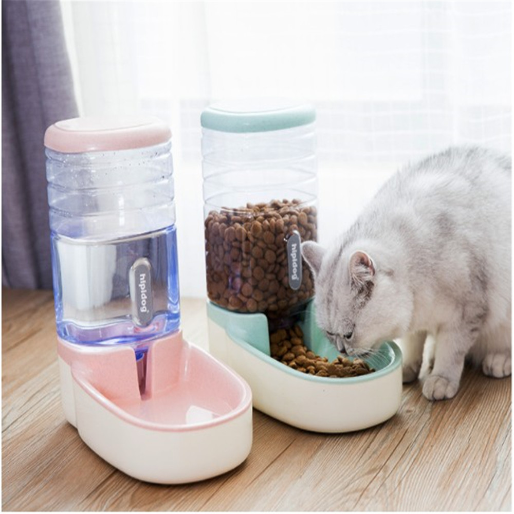 3.8L Pet Automatic Feeder Dog Drinking Bowl For Cat accessories Water Feeding watering supplies Large Capacity Dispenser HOT