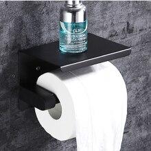 ROLYA SUS 304 Edelstahl Wand Montieren Bad Toilette Tissue Halter Papier Handtuch Halter Roll Wc Papier Halter