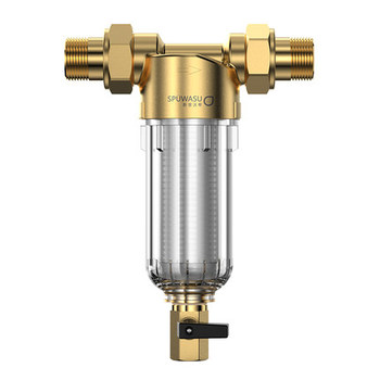 """Water Pre Filter Carry Two Wipers Euro-standard Brass 30Years lifitime Purifier whole house 1/2""""&3/4"""
