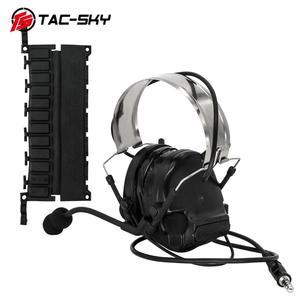 Image 1 - COMTAC III tac tex SKYcomtac iii silikon earmuffs gürültü azaltma pikap hava tabancası askeri çekim earmuffs taktik kulaklık C3BK