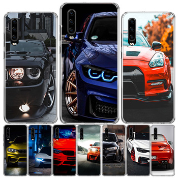 Blue white black For BMW! Phone Case For Huawei P40 P30 P20 P10 Mate 10 20 30 Lite Pro P Smart Z Plus 2019 Cover Shell Coque image