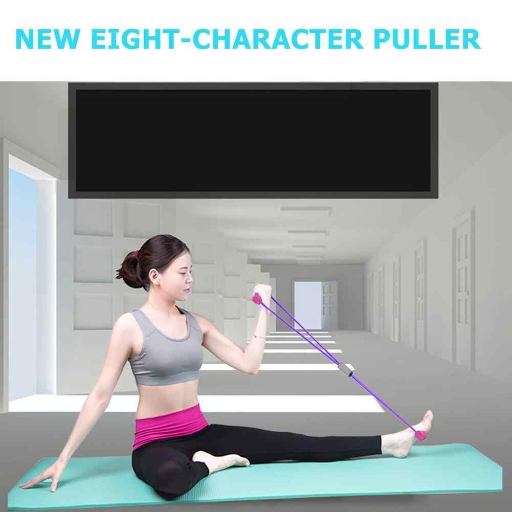 Thảm Tập Yoga Cao Su Thể Dục Chống 8 Từ Ngực Giãn Nở Dây Tập Luyện Cơ Thể Dục Cao Su Thun Dành Cho Luyện Tập Thể Dục Thể Thao