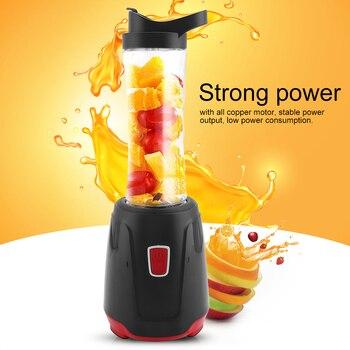 Multifunctional Electric Juicer Portable Fruit Vegetable Blender Fruit Orange Juicer Machine (EU Plug 220V)