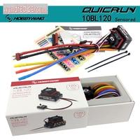 Hobbywing QUICRUN 10BL120 sensore 120A / 10BL60 sensore Brushless ESC regolatore di velocità per 1/10 1/12 RC Mini Car