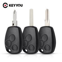 Keyyou 3 capa de controle remoto de chave automotiva, botão para renault trafic vivaro primstar movano kangoo 2 clio 3 com ne72/vac102/va2 blade