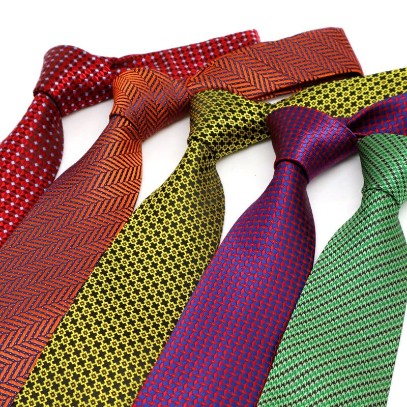 YISHLINE Classic 8CM Mens Tie Plaids Paisley Man Neck Ties Factory Neckwear Bridegroom Business Wedding Tie Men Accessories