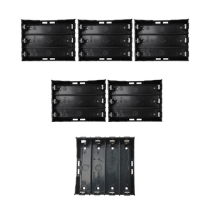 15 шт. черные пластиковые батареи 6 Pin держатель батареи чехол 3x3,7 V 18650 & 4X 13,7 V 18650