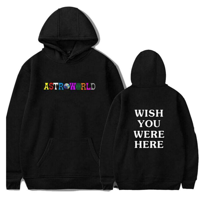 Goocheer New Fashion  2020 Men Women Hip-hop Hoodie Basic Skateboard Astroworld Sweatshirts Sweater