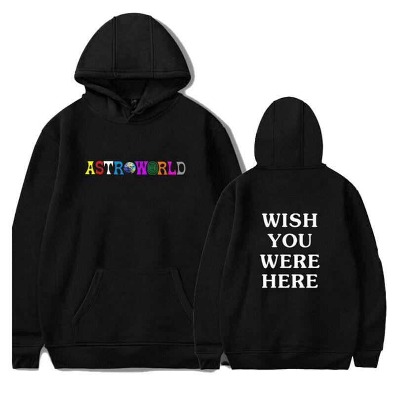 Goocheer New Fashion  2020 Men Women Hip-hop Hoodie Basic Skateboard Astroworld Sweatshirts Sweater