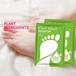 2PCS=1 Pair Exfoliating Foot Masks Peeling Dead Dry Skin Remove Calluses Feet Mask Exfoliating Scrub Pedicure Socks For Heels