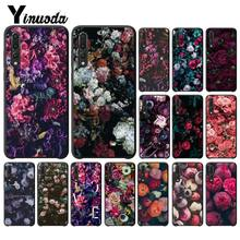 Yinuoda ธรรมชาติและดอกไม้ Peony Rose Protector สำหรับ Huawei P9 P10 Plus Mate9 10 Mate10 Lite P20 Pro honor10 View10(China)