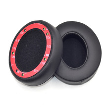 2Pcs New Replacement Ear Pads PU Leather Ears Cup Cushion For Beats Studio 2.0 Noise Isolation Memory Foam EarPads YW#