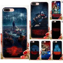 Stranger Things Soft Custom Phone For Huawei Nova 2 V20 Y3II Y5 Y5II Y6 Y6II Y7 Y9 G8 G9 GR3 GR5 GX8 Prime 2018 2019(China)